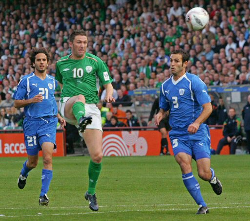 זוכרים? ישראל מול אירלנד ב-2010 (צילום: רויטרס) (צילום: רויטרס)