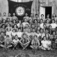 חברי תנועת השומר הצעיר בסניף כפר סבא, 1941