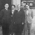 זאב ז'בוטינסקי עם משלחת הסתדרות ציונית חדשה לועדת המנדטים של חבר הלאומים, 1937