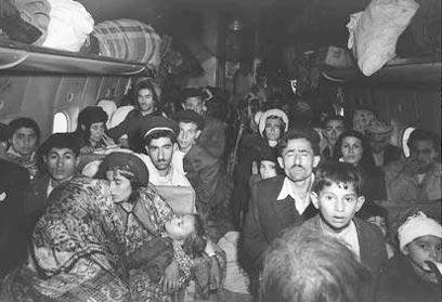 Immigration of the Jews of Iraq in 1951. Their absorption is a victory to Zionism and to the State of Israel, but one cannot ignore their cultural oppression (Photo: GPO)
