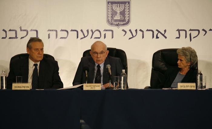 ועדת וינוגרד לבדיקת מלחמת לבנון השנייה (צילום: עמית שאבי) (צילום: עמית שאבי)