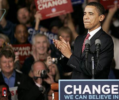 Barack Obama in 2008 - a message of hope and change (Photo: AP)