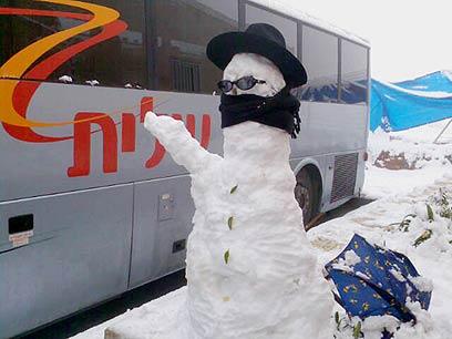 """""""לאחר תחילת תקופת הצומות, מחכים לשלג"""" (צילום: חגי פרץ)"""
