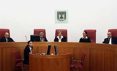 דיון בבית המשפט העליון. תם עידן (צילום: גיל יוחנן) (צילום: גיל יוחנן)