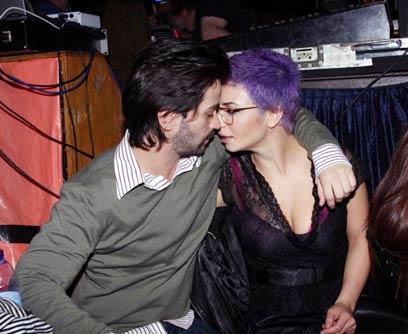 מתנשקים (צילום: ענת מוסברג)