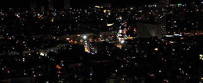 """בת""""א, ר""""ג וערים נוספות יכבו את האורות החל מ-20:00 (צילום: ירון ברנר) (צילום: ירון ברנר)"""