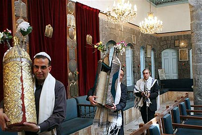 Syrian synagogue (Photo: AP)