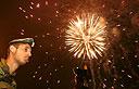 Fireworks on Mount Herzl (Photo: AFP)