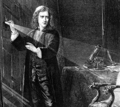 סר אייזק ניוטון (מתוך מאגר Gettyimages Imagebank)