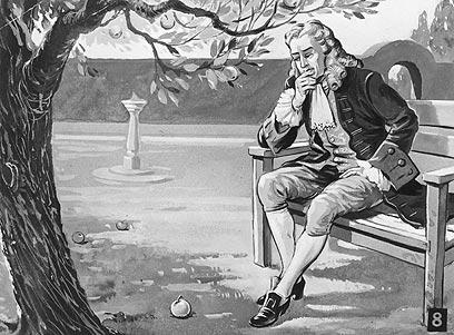 ניוטון מחשב את קצנו לאחור (מתוך מאגר Gettyimages Imagebank) (מתוך מאגר Gettyimages Imagebank)