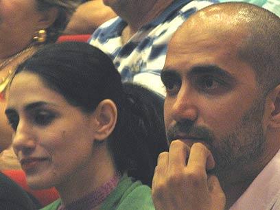 Ronit and Shlomi Elkabetz (Photo: Merav Yudilovich)