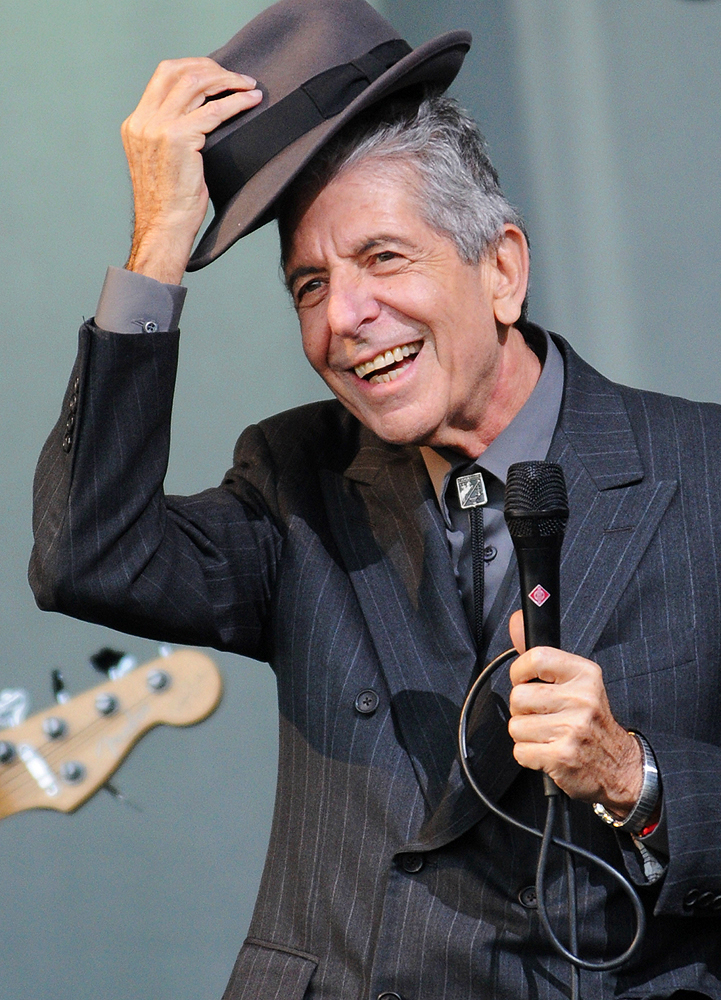 Leonard Cohen (Photo: Gettyimages)