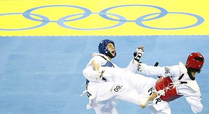 טאקונדו במשחקים האולימפיים רק מסידני 2000 (צילום: רויטרס)