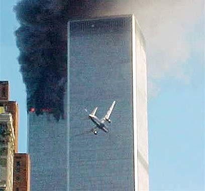 Planes crash into Twin Towers (Photo: AP)