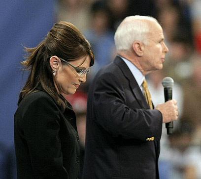 פיילין הייתה מתוסכלת מהוויתור של מקיין על מישיגן ב-2008 (צילום: AFP) (צילום: AFP)