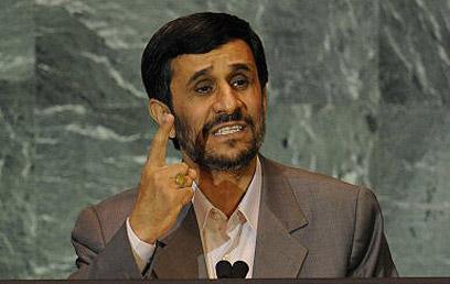 Ahmadinejad. Cool reception? (Photo: AFP)