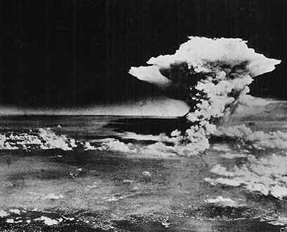 """ה""""ילד קטן"""" של האמריקנים. פצצת האטום שהוטלה על הירושימה בסוף מלחמת העולם השנייה (צילום: AP) (צילום: AP)"""