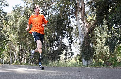 Eitan Hermon in training (Photo: Amit Megal)
