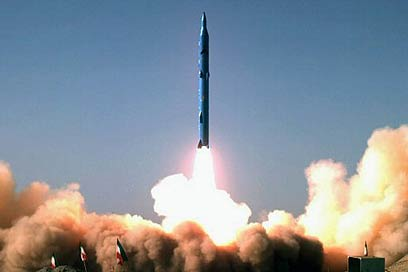 Iranian missile test. An Iran supporting regional terror is much more dangerous here and now than a (potentially) nuclear Iran in 15 years from now (Archive photo: AFP)