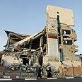 לאחר המתקפה על בניין הפרלמנט בעזה