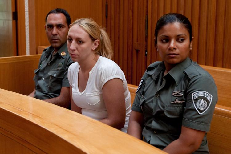 אנסטסיה מיקל בבית המשפט. ארכיון (צילום: דודי ועקנין) (צילום: דודי ועקנין)