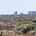 """ישנה התקדמות. מתחם """"חוף התכלת"""" צילום: יוגב עמרני"""