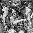 הנביא ישעיהו, תחריט של רפאל