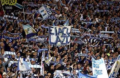 Lazio soccer fans (Photo: Getty Images)