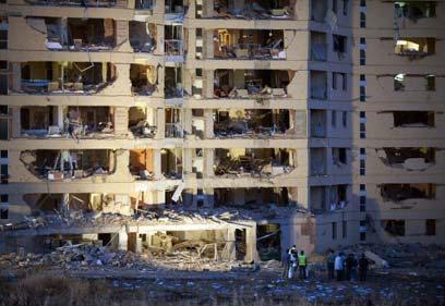 פיגוע בעיר בורגוס שבצפון ספרד לפני כשנתיים (צילום: רויטרס) (צילום: רויטרס)
