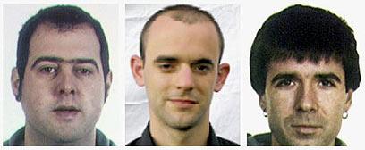 שלושה בכירים במחתרת שנעצרו. המעצרים פגעו בהנהגת הארגון (צילום: רויטרס) (צילום: רויטרס)