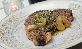 אוכל איטלקי. סטייק טי בון (צילום: ירון ברנר)