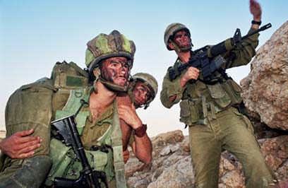 """חיילי גדוד """"נצח יהודה"""" (למצולמים אין קשר לכתבה) (צילום: דובר צה""""ל) (צילום: דובר צה"""
