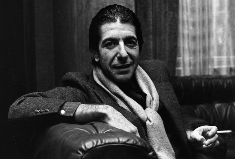 A young Leonard Cohen (Photo: Gettyimages)