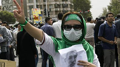 Protests in Iran: government actions may not reflect views of the people. (Photo: Reuters) (Photo: Reuters)