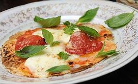 אוכל איטלקי. פיצה מרגריטה (צילום: ירון ברנר)