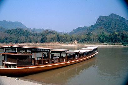 נהר המקונג בלאוס (צילום: mct) (צילום: mct)