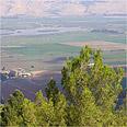 הבקע מתחיל בהרי טורקיה, ממשיך עד עמק החולה (בתמונה)