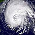 תמונת לווין של סופת הוריקן