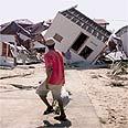 בתים הרוסים עקב פגיעת הוריקן