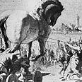 מלחמת טרויה, הסוס הטרויאני.