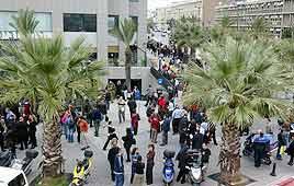 רעידת האדמה בתל אביב (צילום: תומריקו)