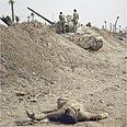 גופה של חייל אירני בסמוך לגבול שתי הארצות.