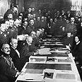 החתימה על החוזה 1918