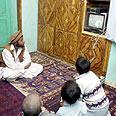 צפייה בטלויזיה לאחר נפילת משטר הטליבאן