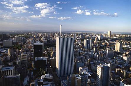 יוהנסבורג, דרום אפריקה. יעד לוהט ()
