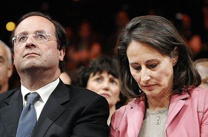 הפכו ליריבים מרים אחרי 30 שנות זוגיות. רויאל והולנד (צילום: איי אף פי) (צילום: איי אף פי)