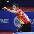 אלוף העולם, הסיני וונג ליקין, במהלך טורניר בגרמניה, מאי 2006.
