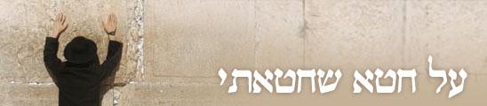 אנציקלופדיה ynet, יום כיפור. צילום: ירון ברנר