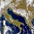 הים האדריאטי, בין איטליה לבין סלובניה, קרואטיה, סרביה-מונטנגרו ואלבניה