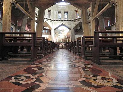 מרבית הנוצרים הערבים מתגוררים בנצרת (צילום:  זיו ריינשטיין) (צילום:  זיו ריינשטיין)